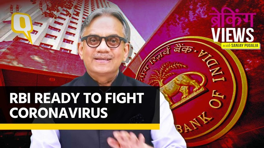 As Coronavirus Pushes Economy Further To the Edge, RBI Steps In