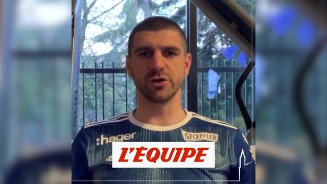 L'appel de la SIG et du RC Strasbourg pour le confinement - Tous sports - Coronavirus
