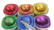 Kids Learn Colors Toy Slime Water Balloon Combine Glue Glitter Slme Clay Toys For Kids