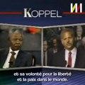 La réponse cinglante de Mandela quand on lui reprochait d'avoir des liens avec Arafat, Castro et Kadhafi