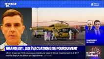 Coronavirus: une première évacuation par hélicoptère militaire pour transférer des patients de Metz vers l'Allemagne est en cours