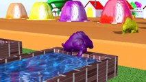 Learn Colors With Animal - Farm animals and their young are transformed into wild animals and their young