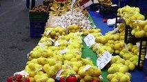 Pazarlarda sadece gıda ve temizlik ürünlerinin satışı yapılıyor - TEKİRDAĞ