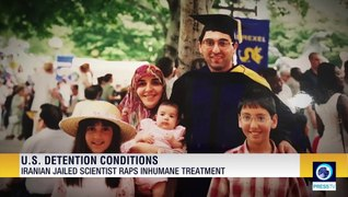 Iranian scientist jailed in U.S. without charge, criticizes his inhumane detention conditions