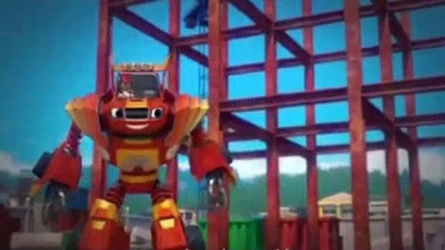 Blaze And The Monster Machines S04E03 Robot Power