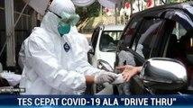Rapid Test Covid-19 di Bogor ala Drive Thru