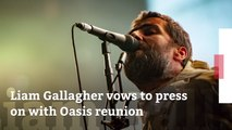 Liam Gallagher Is still Working On Oasis Reunion
