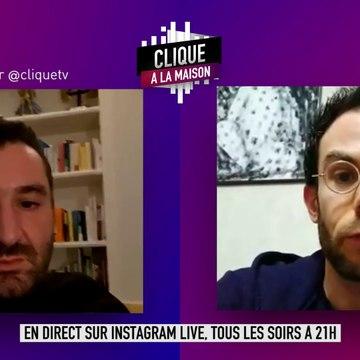 Clément Viktorovtich animera le live de lundi 30 mars - Clique à la Maison - CANAL+