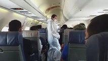 Regreso de ticos desde Guatemala - 280320