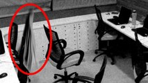 Ghost in Office, Ghost Caught on CCTV Camera from an Office