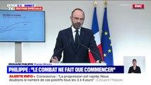 """Édouard Philippe: """"Nous avons tout mis en oeuvre pour augmenter notre capacité d'accueil dans les services de réanimation"""""""