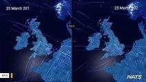 Stunning Video Shows Air Traffic Decline Due To Coronavirus