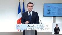 La France a commandé 1 milliard de masques et 5 millions de tests