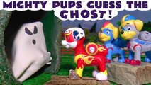 Paw Patrol Guess the Ghost Spooky Challenge with Marvel Avengers Hulk and Disney Cars 3 Lightning McQueen in this Family Friendly Full Episode Toy Story from a Kid Friendly Family Channel