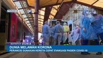 Perancis Pakai Kereta Cepat TGV Evakuasi Pasien Corona