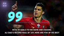General: 99 goals not out - Ronaldo's top five for Portugal