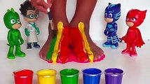 Edy Play Toys - Pj Masks Toys And Kids Learn Colors With Colorful Feet And Finger Paint Color For Kids And Babies