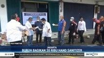 Tangkal Covid-19, MPBI Bagikan 20 Ribu <i>Hand Sanitizer</i>
