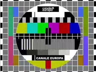 monoscopio Canale Europa