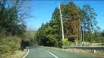 (たおやかインターネット放送)車窓から中山道・御嶽宿から細久手宿Nakasendo Gifu Prefecture Mitakejuku to Hosokutejuku