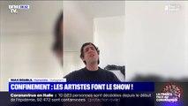 Coronavirus: en confinement, les artistes font leur show sur les réseaux sociaux