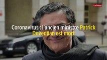 Coronavirus : l'ancien ministre Patrick Devedjian est mort