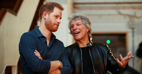 Bon Jovi lanza un single benéfico con el Príncipe Harry