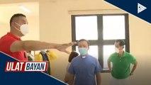 Isang gusali ng San Juan City Science High School, gagamiting quarantine facility