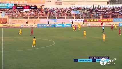 S. Khánh Hòa BVN - Hải Phòng FC | Hat-trick và thẻ đỏ khó tin của Jermie Lynch | Trận đấu kinh điển