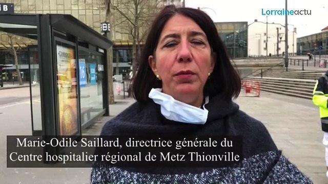 Coronavirus : la directrice du CHR régional de Metz-Thionville fait le point