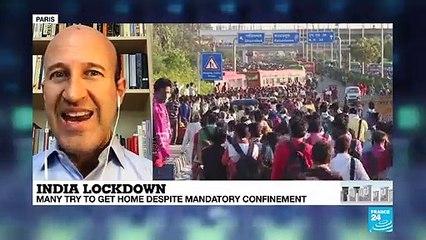 India's 1 billion people + lockdown
