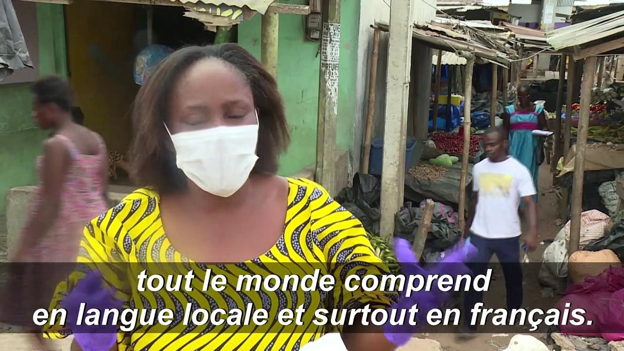 Côte d'Ivoire: des messages de prévention diffusés contre le coronavirus par haut-parleurs