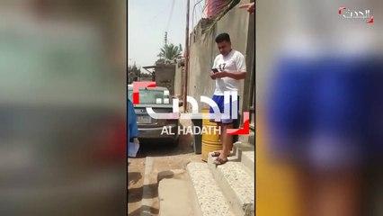 شاهد - عائلة في البصرة ترفض تسليم إحدى المصابات بكورونا وتهدد بإطلاق النار على الإسعاف