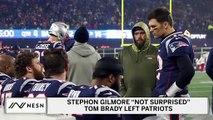 Stephon Gilmore Not Surprised Tom Brady Left Patriots