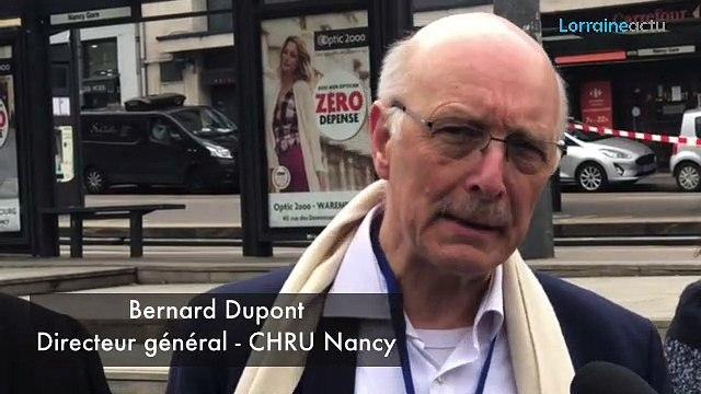 Coronavirus : le CHRU de Nancy a dû appeler du renfort