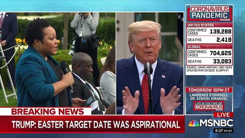 Trump snaps at Black reporters calling them 'you people' during Rose Garden press conference
