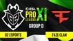 CSGO - G2 Esports vs. FaZe Clan [Nuke] Map 1 - ESL Pro League Season 11 - Group D