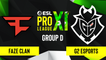 CSGO - G2 Esports vs. FaZe Clan [Dust2] Map 2 - ESL Pro League Season 11 - Group D