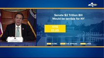Senate stimulus bill would be 'terrible' for NY, says Governor Cuomo