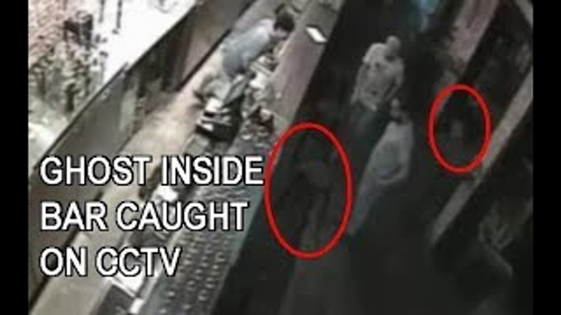 GHOST INSIDE BAR IN SINGAPORE CAUGHT ON CCTV