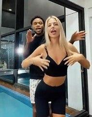 Luiz Adriano ve eşinin cesur dansı!