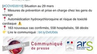 Chloroquine : plusieurs cas mortels d'usage en France...