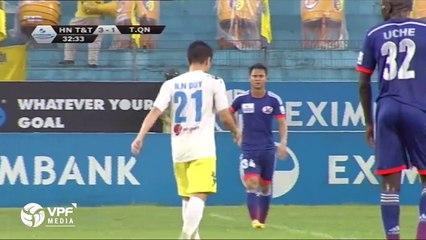 Hà Nội T&T - Than Quảng Ninh | 10 bàn thắng, 1 thẻ đỏ ở đại chiến V.League 2014 | VPF Media