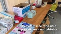 Coronavirus: le rugbyman Maxime Mbanda, ambulancier volontaire à Parme