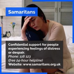 Useful helplines to help you with your mental health