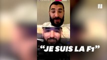 Karim Benzema dézingue Giroud en direct