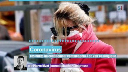 Podcast - Coronavirus: les effets du confinement commencent à se voir en Belgique...