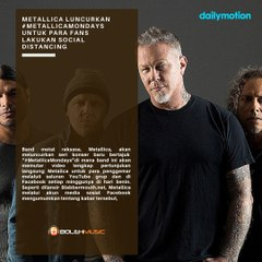 Metallica Luncurkan #MetallicaMondays Untuk Para Fans Lakukan Social Distancing