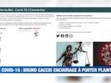 Quand Bruno Gaccio appelle à porter plainte contre X dans la gestion de la crise sanitaire -  Reportage TL7 - TL7, Télévision loire 7