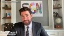 John Krasinski Launches New YouTube Series 'Some Good News' | THR News